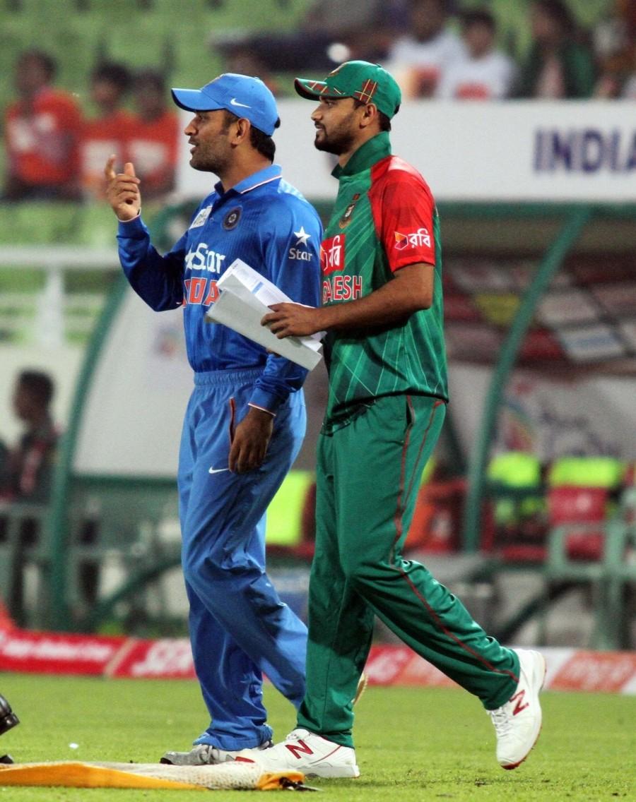 Bandladesh,India,india vs bangladesh,Asia Cup,Asia Cup 2016,Mashrafe Mortaza,Virat Kohli,Mahendra Singh Dhoni,Dhoni,Sher-e-Bangla National Stadium