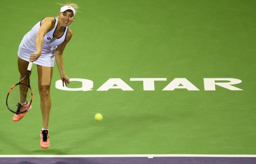 Sania Mirza,Martina Hingis,Sania Mirza and Martina Hingis,Sania Mirza and Martina Hingis' winning streak ends at 41,Sania Mirza and Martina Hingis' 41 match-winning streak ends in Qatar,Indo-Swiss,Agnieszka Radwanska,WTA Qatar Open 2016,WTA Qata