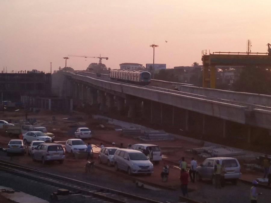 Kochi metro,kochi metro trail run,kochi metro photos,kochi metro trail run success,kochi metro limited