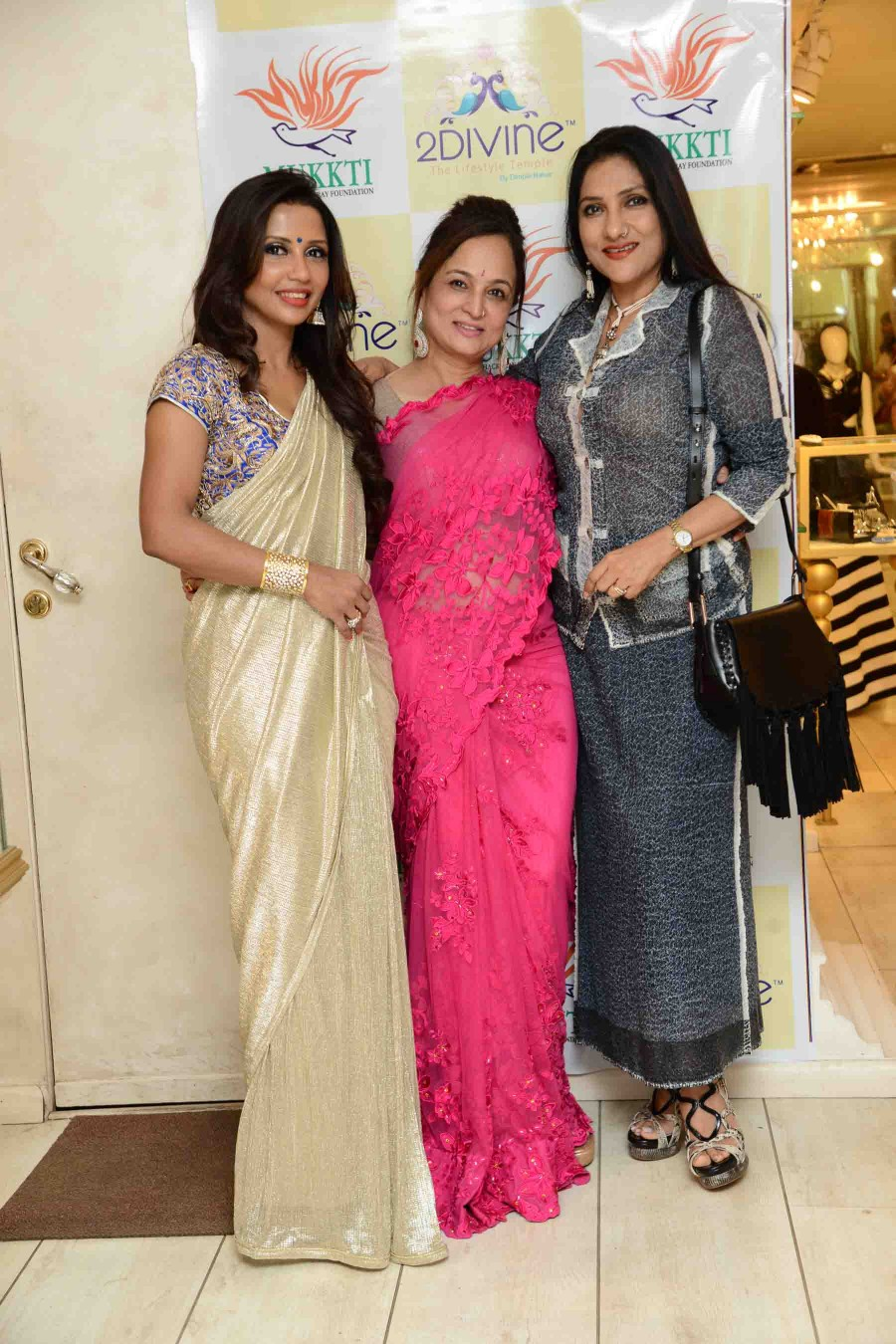 Dimple Nahar,Smita Thackeray,Pre-Women's Day Soiree,The 2Divine Store,2Divine Store,Women Power,special pre-women's