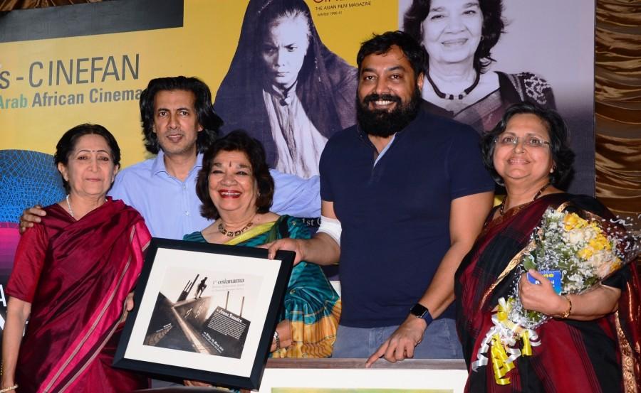 Osian's Cinefan Fest,Anurag Kashyap,Shyam Benegal,Neville Tuli,Lalita Lajmi,Aarti Chhabria,Deepak Dobriyal,Uma da Cunha