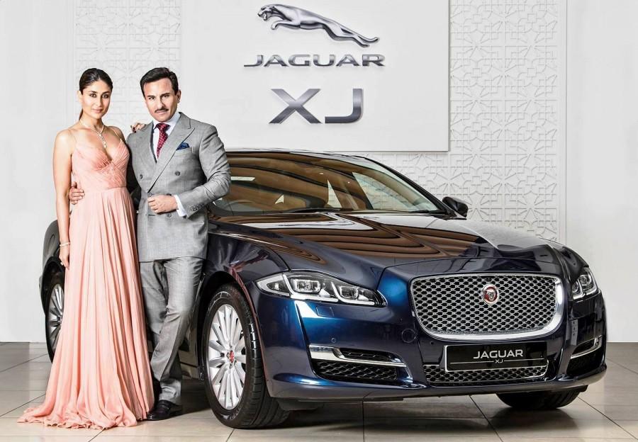 Jaguar XJ,Saif Ali Khan,Kareena Kapoor Khan,saif ali khan khan kareena kapoor,saif ali khan cars,saif ali khan net worth,kareena kapoor,kareena kapoor cars,kareena kapoor car collection,new Jaguar XJ,New Jaguar XJ price,saif kareena cars