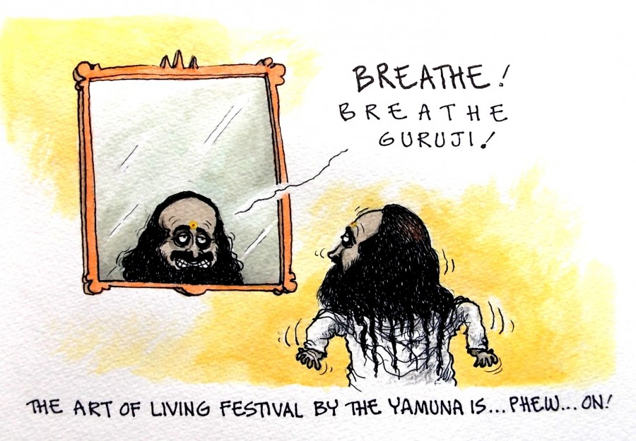IBTimes Cartoon,Ravishankar cartoon,Ponnappa cartoon