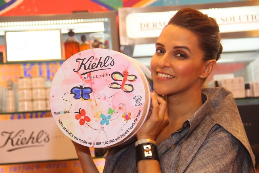 Neha Dhupia,Kiehl,Edition Ultra Facial Cream,Facial Cream,actress Neha Dhupia,bollywood actress Neha Dhupia,Kiehl's launches Limited Edition Ultra Facial Cream
