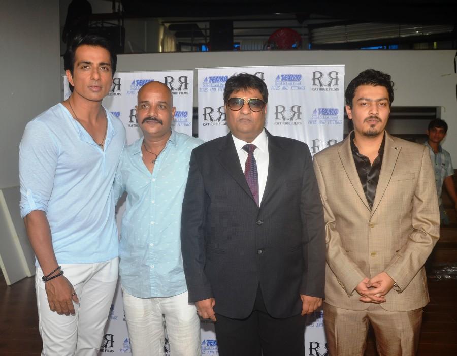Sonu Sood,Sonal Chauhan,Sonal Chauhan and Sonu Sood Shoot as Brand Ambassadors,Texmo Pipe Fittings AD,Director Rajend,Sonal Chauhan and Sonu Sood