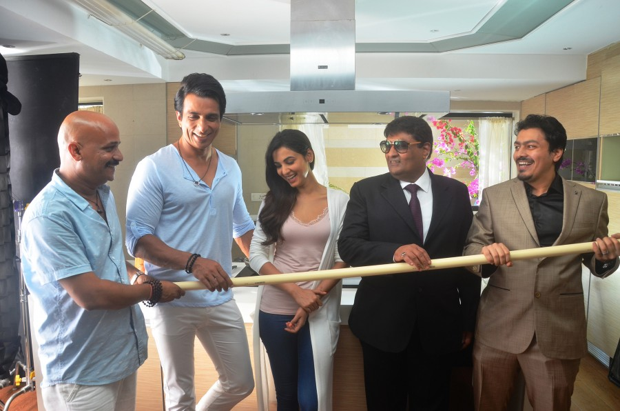 Sonu Sood,Sonal Chauhan,Sonal Chauhan and Sonu Sood Shoot as Brand Ambassadors,Texmo Pipe Fittings AD,Director Rajend,Sonal Chauhan and Sonu Sood
