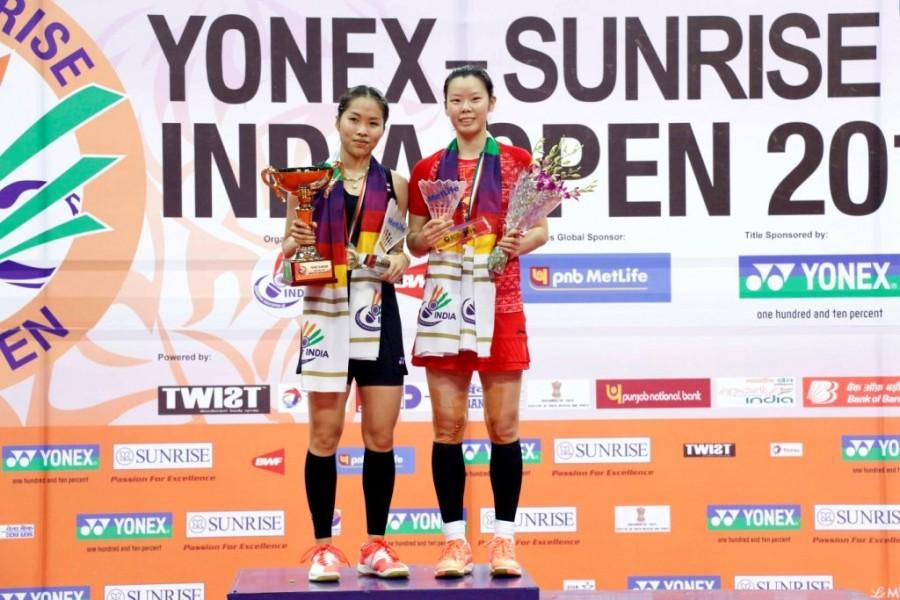 Badminton,India Open,Kento Momota and Thailand's Ratchanok Intanon,Kento Momota,Ratchanok Intanon,India Open 2016