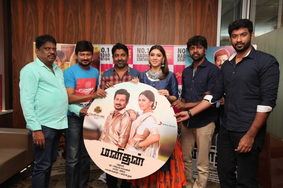 Manithan audio Launch,Manithan,Udhayanithi Stalin,Hansika Motwani,Manithan audio Launch pics,Manithan audio Launch images,Manithan audio Launch stills,Manithan audio Launch pictures,Manithan audio Launch photos,Madhan Karky