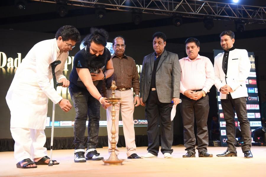 Dadasaheb Phalke Film Foundation Award 2016,Dadasaheb Phalke Film Foundation Award,Dadasaheb Phalke award,Lalit Pandit,Bhappi Lahiri,Madhur Bhandarkar,Manoj Bajpai,Sameer,Armaan,Amal Malik,Dadasaheb Phalke Film awards,Dadasaheb Phalke Film awards pics,Dad