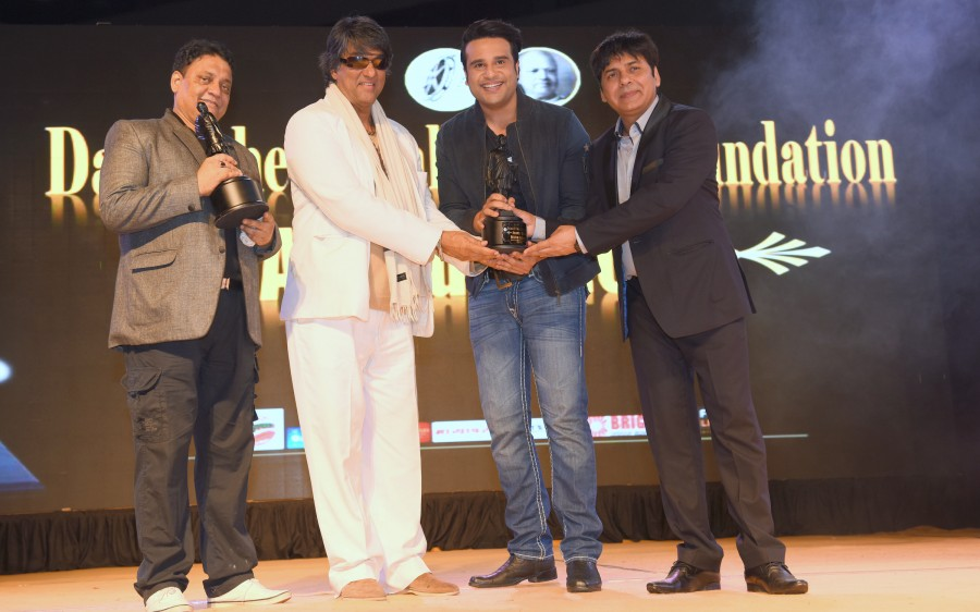 Dadasaheb Phalke Film Foundation Award 2016,Dadasaheb Phalke Film Foundation Award,Dadasaheb Phalke award,Lalit Pandit,Bhappi Lahiri,Madhur Bhandarkar,Manoj Bajpai,Sameer,Armaan,Amal Malik,Dadasaheb Phalke Film awards,Dadasaheb Phalke Film awards pics,Dad