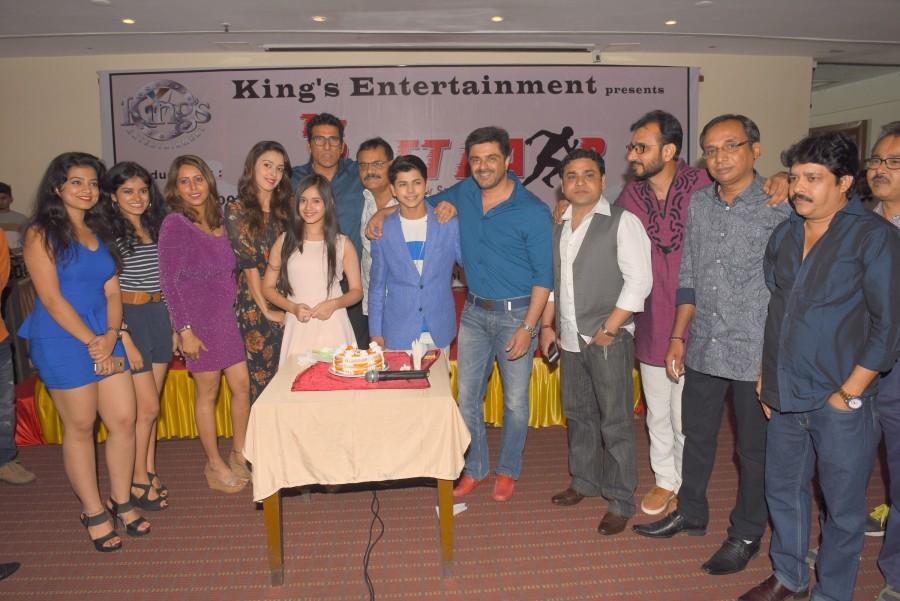Samir Soni,Siddharth Nigam,Tez Raftaar,Tez Raftaar movie launch,Tez Raftaar movie launch pics,Tez Raftaar movie launch images,Tez Raftaar movie launch photos,Tez Raftaar movie launch stills,Tez Raftaar movie launch pictures