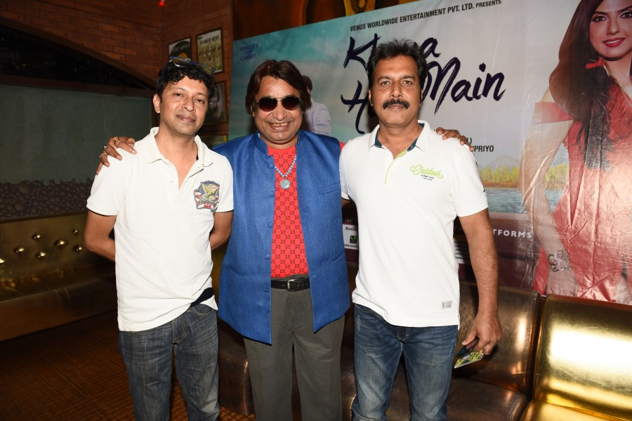 Khoya Hun Main song launch,Khoya Hun Main music launch,Khoya Hun Main,Bollywood movie Khoya Hun Main,Babul Supriyo,singer Babul Supriyo,Khoya Hun Main song launch pics,Khoya Hun Main song launch images,Khoya Hun Main song launch stills,Khoya Hun Main song