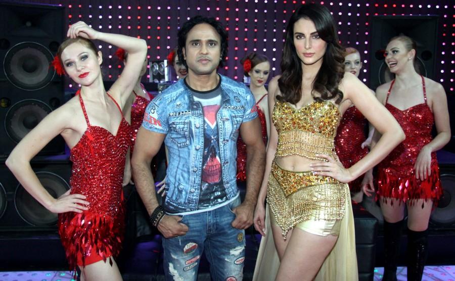 Mandana Karimi,Mandana Karimi item song,item song,Big Boss fame Mandana Karimi,Mandana Karimi bigg boss 9 contestant,Raj Purohit,English-Hindi film B Positive,B Positive