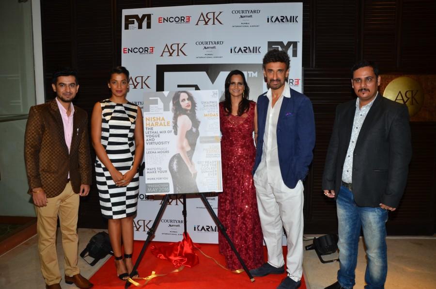 Mugdha Godse and Rahul Dev,Mugdha Godse,Rahul Dev,Sumit Zarchobe,Nisha Harale,Rohit Alag,FYI,FYI Magazine