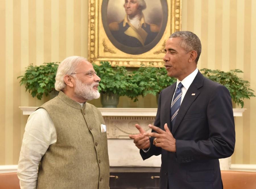 Narendra Modi,Barack Obama,Narendra Modi meets Barack Obama,Narendra Modi meets Barack Obama at White House,Modi meets Obama at White House,Modi meets Obama,USA President Barack Obama.,Prime Minister Narendra Modi,Oval Office,Washington