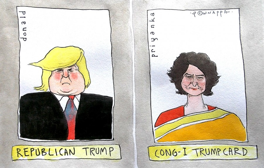 Donald Trump,Priyanka Gandhi,US elections,US presidential elections