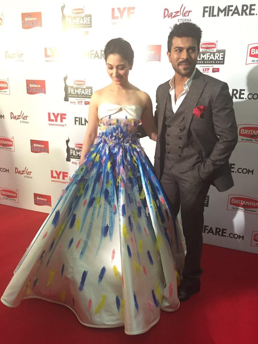 Filmfare Awards South 2016,Filmfare Awards,Filmfare Awards 2016,Vikram,Rana Daggubati,Ram Charan,Tamannaah,Vikram,63rd Filmfare Awards South 2016,63rd Filmfare Awards 2016,Filmfare Awards pics,Filmfare Awards images,Filmfare Awards photos,Filmfare Awards