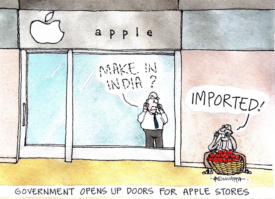 Apple stores,Apple Inc,Make in India