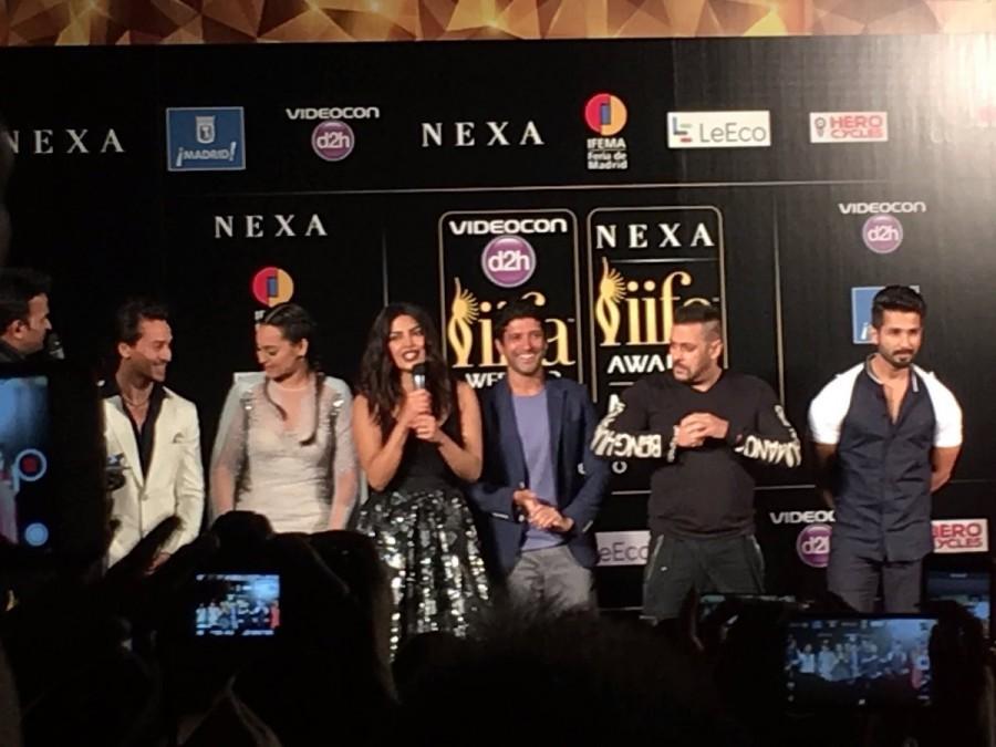 IIFA,IIFA Madrid Opening Press Meet,IIFA Press Meet,IIFA 2016,Salman Khan,Deepika Padukone,Priyanka Chopra,Shilpa Shetty