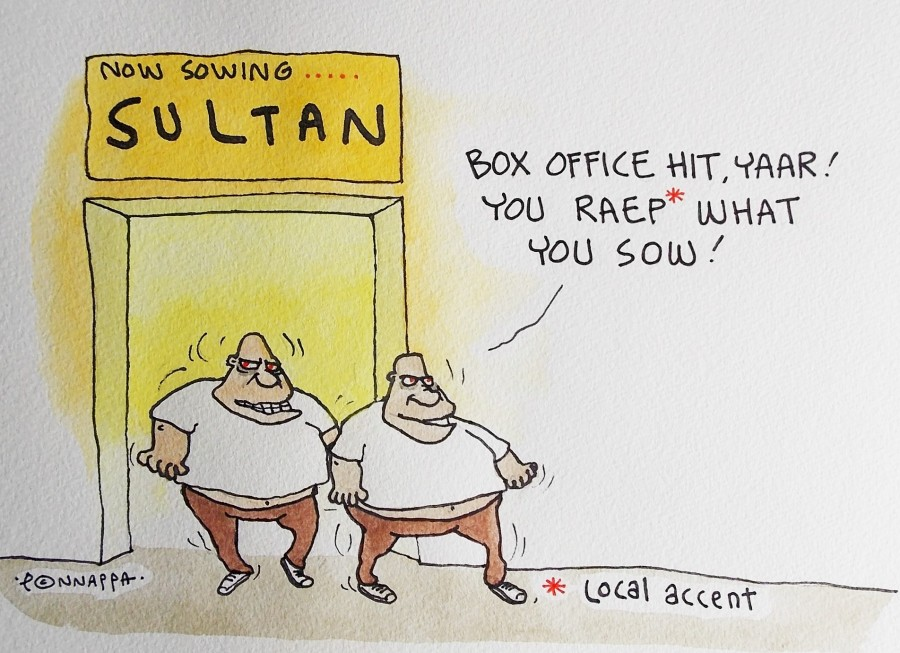 IBTimes Cartoon,Salman Khan,Sultan release,Salman Khan rape comment,Salman Khan Sultan release,Salman Khan rape remark