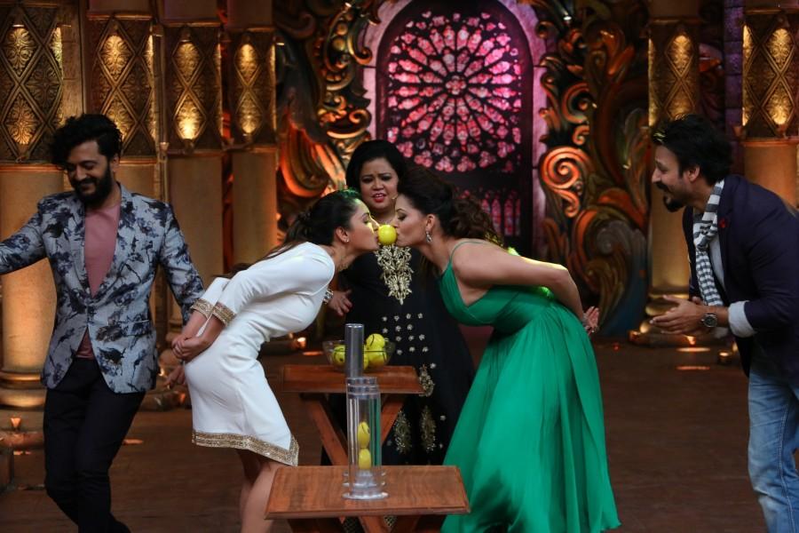 Great Grand Masti,Vivek Oberoi,Urvashi Rautela,Indra Kumar,Riteish Deshmukh,Aftab Shivdasani,The Kapil Sharma Show,Great Grand Masti promotions,Great Grand Masti movie promotions