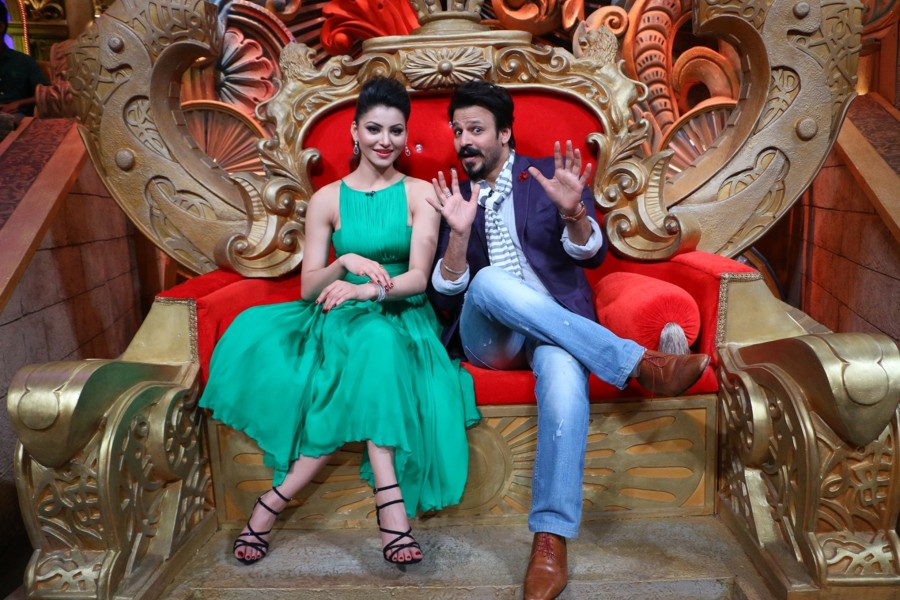 Great Grand Masti,Vivek Oberoi,Urvashi Rautela,Indra Kumar,Riteish Deshmukh,Aftab Shivdasani,The Kapil Sharma Show,Great Grand Masti promotions,Great Grand Masti movie promotions