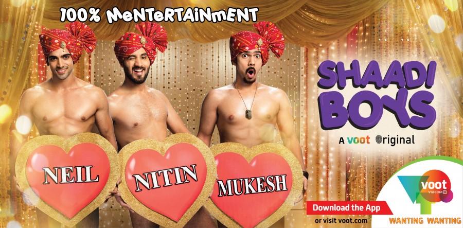 Shaadi boys,web series,web series shaadi boys,neil,nitin,mukesh,neil nitin mukesh,Entertainment