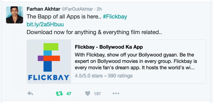 Flickbay,Sidharth Malhotra,Ritesh Sidhwani,Karan Johar,Anil Kapoor,Anushka Sharma,Varun Sharma,Rohan Joshi,Sayani Gupta