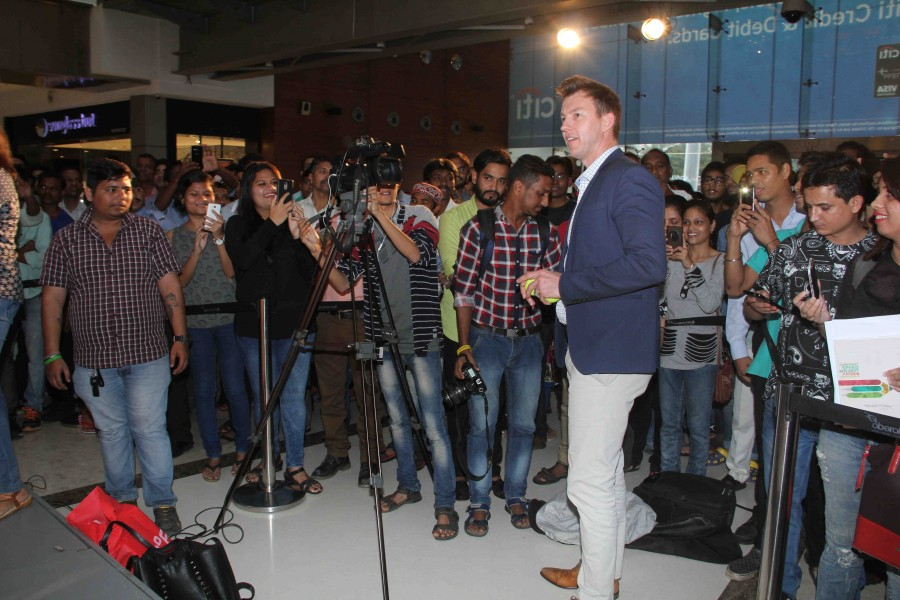 Brett Lee,Australian cricket player Brett Lee,Brett Lee promotes Unindian movie,Brett Lee promotes Unindian movie in Mumbai,Unindian,bollywood movie Unindian,Unindian promotion,Unindian promotion pics,Unindian promotion images,Unindian promotion photos,Un