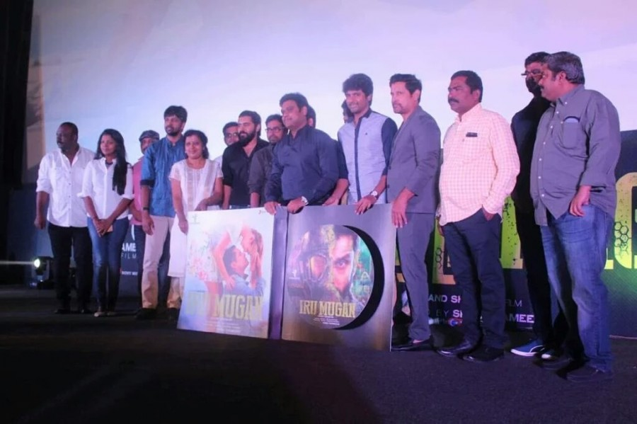 Iru Mugan Trailer,Iru Mugan,Iru Mugan audio,Iru Mugan music,Sivakarthikeyan,Vikram,Nivin Pauly,Iru Mugan Trailer launch,Iru Mugan music launch,Iru Mugan music launch pics,Iru Mugan music launch images,Iru Mugan music launch photos