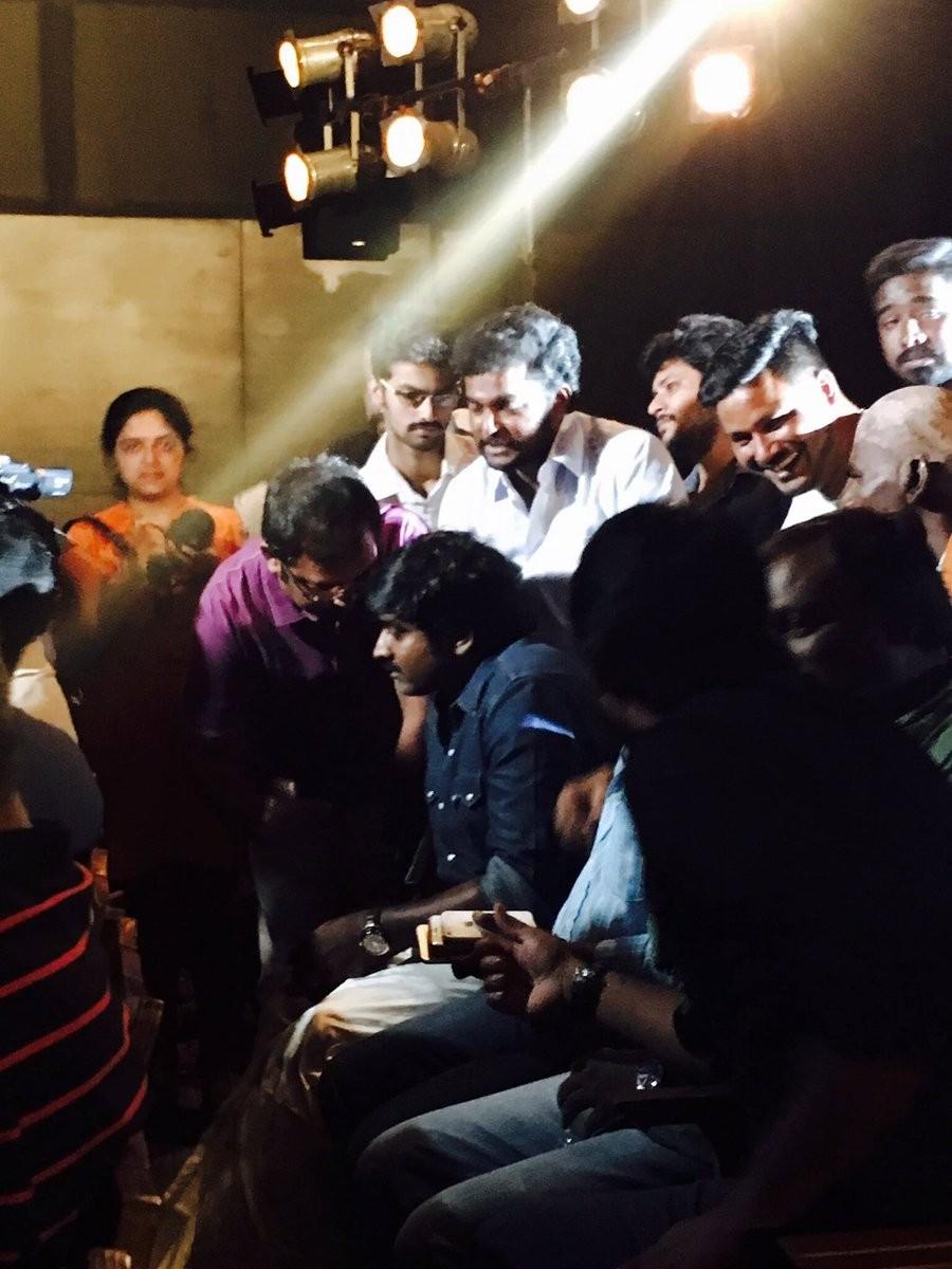 Dharmadurai audio launch,Dharmadurai music launch,Vijay Sethupathi,Srushti Dange,Kanja Karuppu,Dharmadurai audio launch pics,Dharmadurai audio launch images,Dharmadurai audio launch photos,Dharmadurai audio launch stills,Dharmadurai audio launch pictures