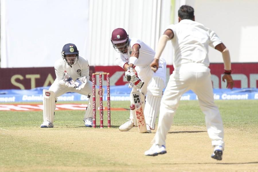 India vs West Indies,India vs West Indies 2nd Test ends,Roston Chase,Jermaine Blackwood,Shane Dowrich,Jason Holder,Ind vs WI,Ind vs WI test match,Ind vs WI 2nd test