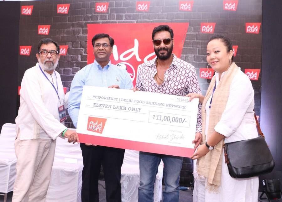 Ajay Devgn,Ajay Devgn as KFC's Hope ambassador,Ajay Devgn as KFC's ambassador,KFC's ambassador,actor Ajay Devgn,Ajay Devgn pics,Ajay Devgn images,Ajay Devgn photos,Ajay Devgn stills,Ajay Devgn pictures