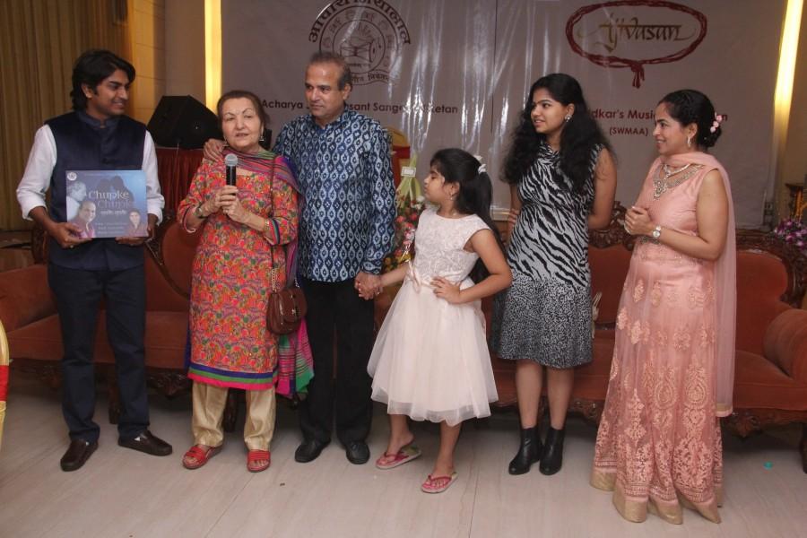 Singer Suresh Wadkar,Suresh Wadkar,Suresh Wadkar Birthday Bash,Suresh Wadkar Birthday celebrations,Salim Merchant,Pankaj Udhas,Sudesh Bhosle,Roop Kumar Rathod,Nitin Mukesh,Samir Date