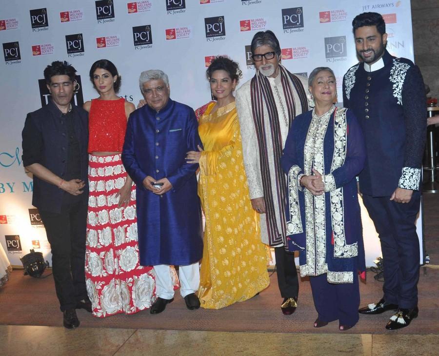 Mijwan 2015,Sonam Kapoor,Sonakshi Sinha,abhishek bachchan,Amitabh Bachchan,shabana azmi,manish malhotra,fashion show,photos