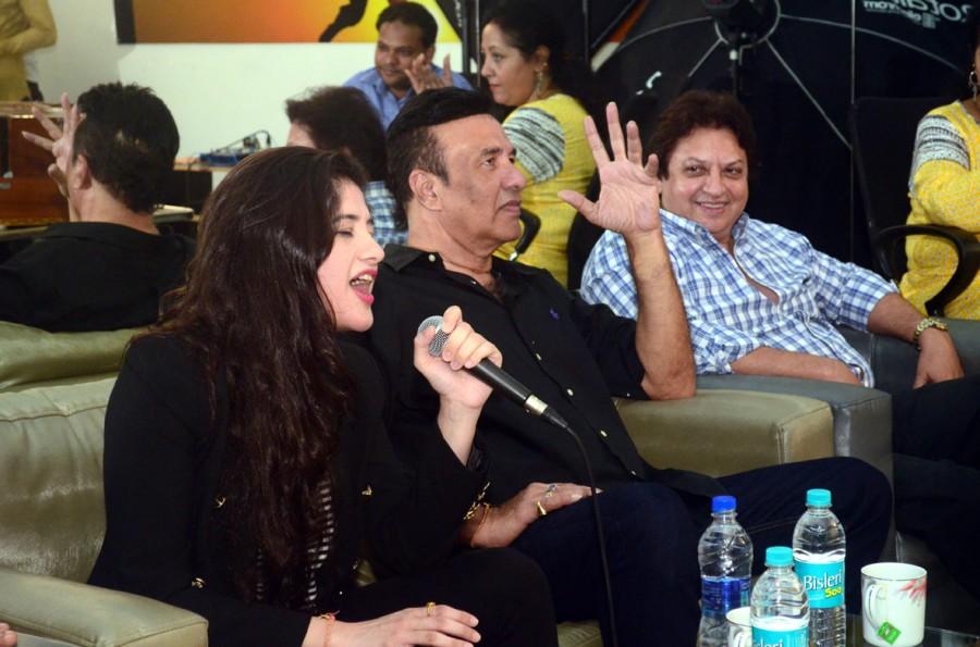 Anu Malik,Anmol Malik,Anu Malik with daughter Anmol Malik,Anu Malik at ITA School,ITA School,Anmol Malik pics,Anu Malik pics