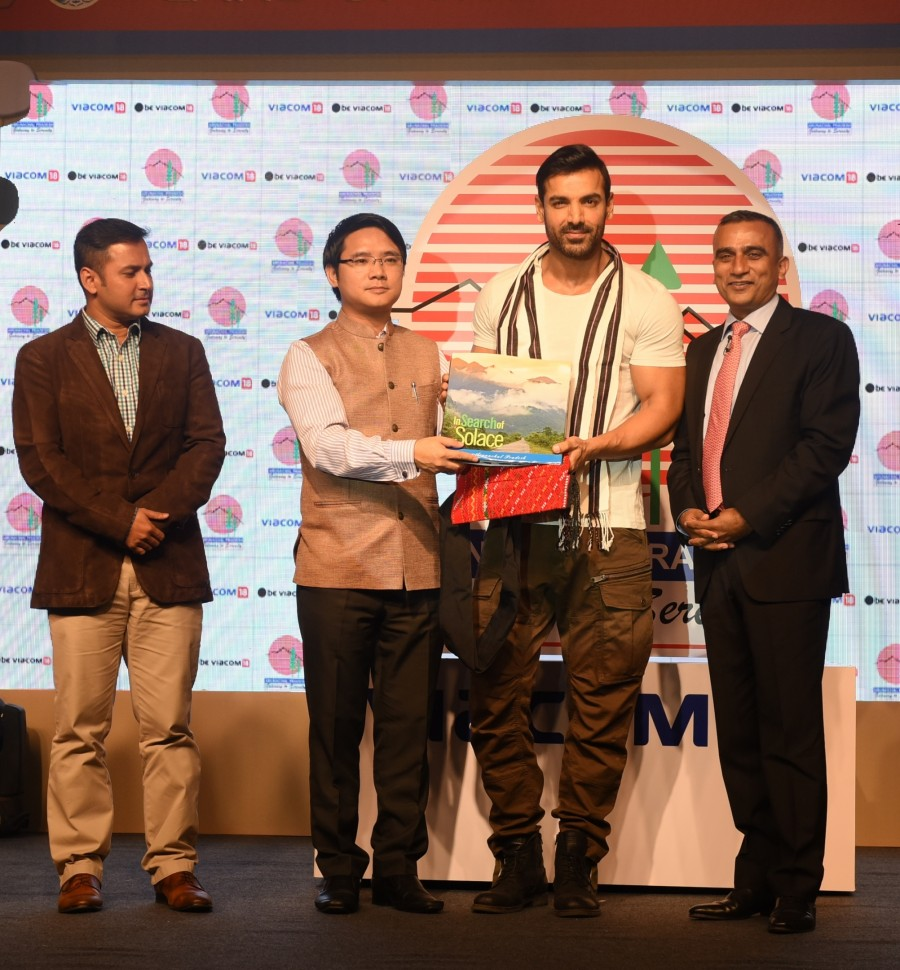 John Abraham,John Abraham as Brand Ambassador of Arunachal Pradesh Tourism,John Abraham as Brand Ambassador,Brand Ambassador of Arunachal Pradesh Tourism,Bollywood superstar John Abraham,John Abraham pics,John Abraham images,John Abraham photos,John Abrah