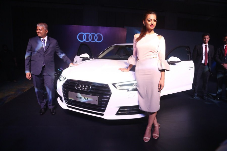 Radhika Apte,Radhika Apte launches Audi A4,Audi A4,Next Gen Audi A4,Radhika Apte latest pics,Radhika Apte latest images,Radhika Apte latest photos,Radhika Apte latest pictures