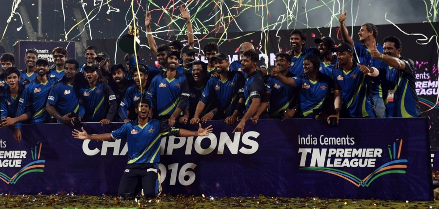 Tuti Patriots,Tuti Patriots wins Title,Chepauk Super Gillies,TNPL final,TNPL 2016,Tuti Patriots beat Chepauk Super Gillies,Tamil Nadu Premier League 2016,Tamil Nadu Premier League