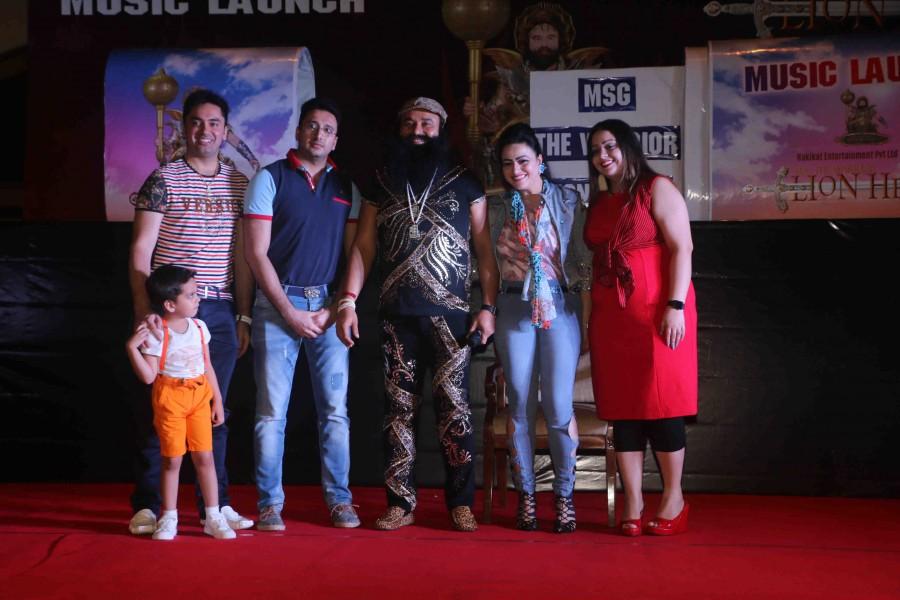 Music Launch of Film MSG,MSG - The Warrior Lion Heart,Saint Dr. Gurmeet Ram Rahim Singh,Dr. Gurmeet Ram Rahim Singh,Gurmeet Ram Rahim Singh