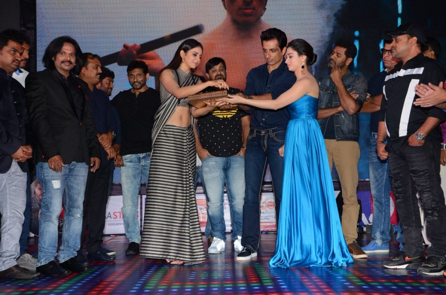 Abhinetri audio launch,Abhinetri audio,Abhinetri music,Abhinetri,Prabhu Deva,Sonu Sood,Tamannaah Bhatia,Rakul Preet Singh,Abhinetri audio launch pics,Abhinetri audio launch images,Abhinetri audio launch photos,Abhinetri audio launch stills,Abhinetri audio