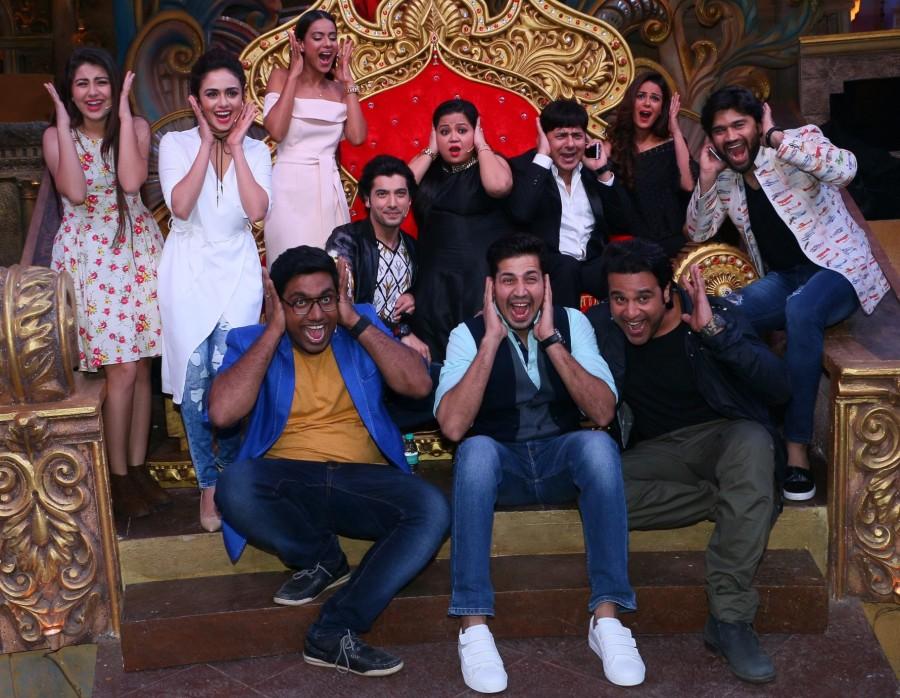 Comedy Nights Bachao Taaza,Bharti Singh,Sumeet Vyas,Krushna Abhishek,Sudesh Lahiri,Aditi Bhatia,Manan Desai,Amruta Khanvilkar,Mona Singh,Ssumier Pasricha aka Pammy Aunty,Ssharad Malhotra,Nia Sharma,Balraj Sayal