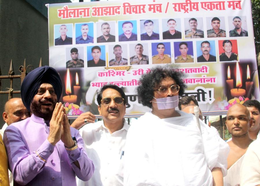 MS Bitta,Muniji Dr Lokesh,Mukesh Rishi,Yogesh Kumar,Shri Rajput,Harsh Joshi,Jai Jawan Army Memorial,Azad Maidan