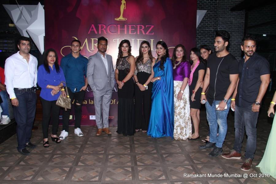 Archerz Mrs. India 2017,Mrs. India 2017,Mrs Anjana,Mrs Sakshi,Mrs. Archer India,Bharat Chawda Gurmeet Rehal,Bharat Chawda,Gurmeet Rehal