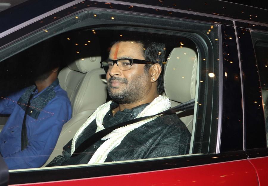 Sonam Kapoor,Karan Johar,Taapsee Pannu,R. Madhavan,Amitabh Bachchan's diwali party,Amitabh Bachchan diwali party,Amitabh Bachchan