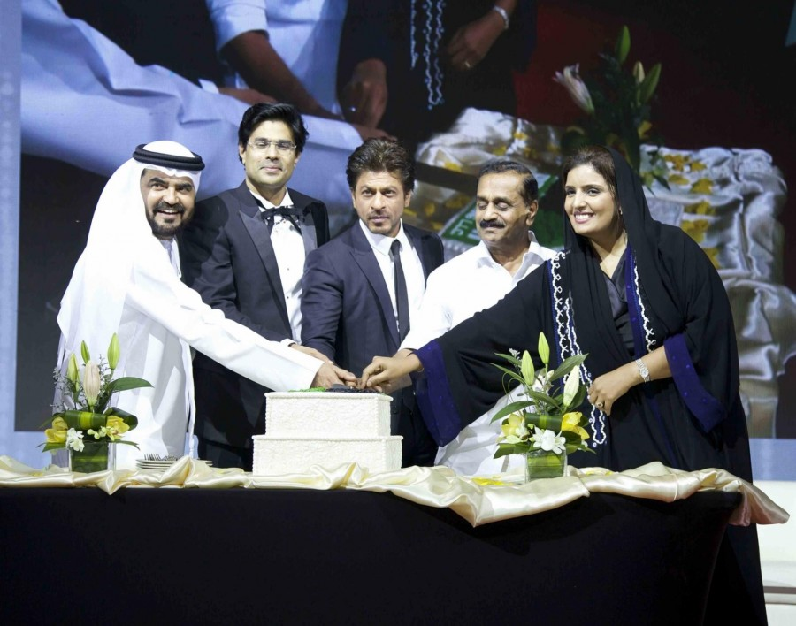 Shah Rukh Khan,Pravarthi Building Contracting LLC's headquarters inauguration,Actor Shah Rukh Khan,Pravarthi Building