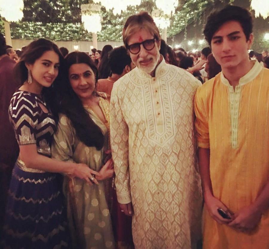 Amitabh Bachchan,Shraddha Kapoor,Tabu,Abu Jani Sandeep Khosla,Sandeep Khosla,Abhishek Bachchan,Saudamini Mattu,Shweta Bachchan Nanda