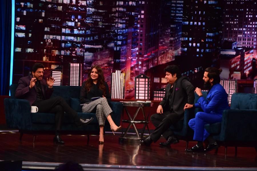 King Khan and Anushka Sharma,Shah Rukh Khan,Anushka Sharma,ZEE TV's Yaaron Ki Baraat,Yaaron Ki Baraat,King Khan,Riteish Deshmukh,Sajid Khan