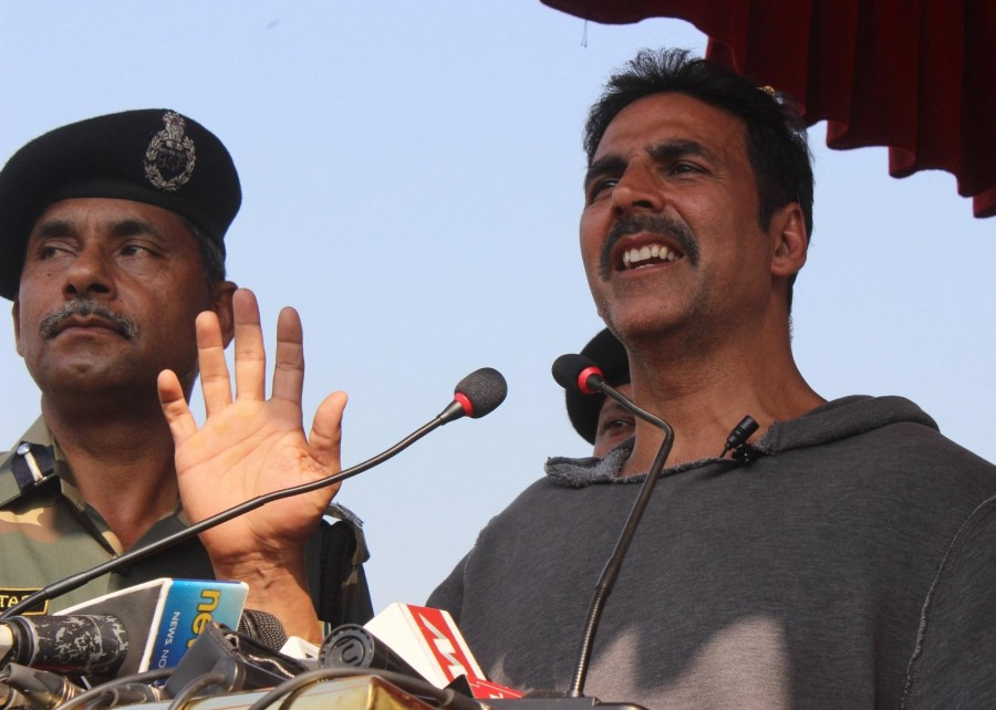 Our Jawans are real heroes: Akshay Kumar