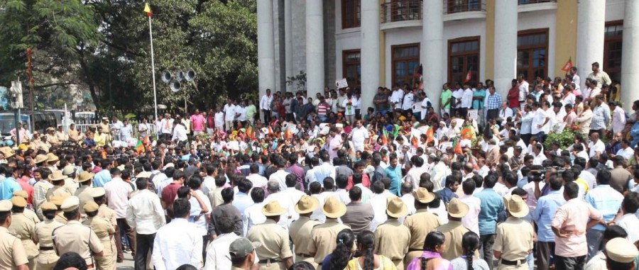 BS Yeddyurappa,BJP leaders,Tippu Jayanti,Congress,Congress government